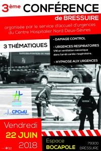 3è CONGRES DE BRESSUIRE DE MEDECINE D'URGENCE